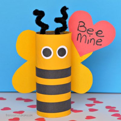 Bee Mine Valentine Day Craft