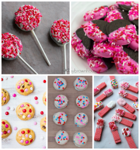 Fun and easy Valentine's Day treats, perfect for school Valentine's Day parties