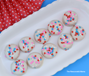No bake Valentine's Day cookies are super easy and quick to make-they are perfect for school Valentine's Day parties