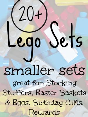 20+ Smaller Lego Sets