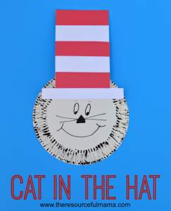 cat in the hat vertical image