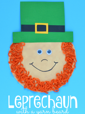 St. Patrick's Day Leprechaun Craft for Kids