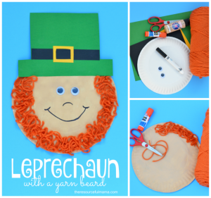 Leprechaun kid craft for St. Patrick's Day