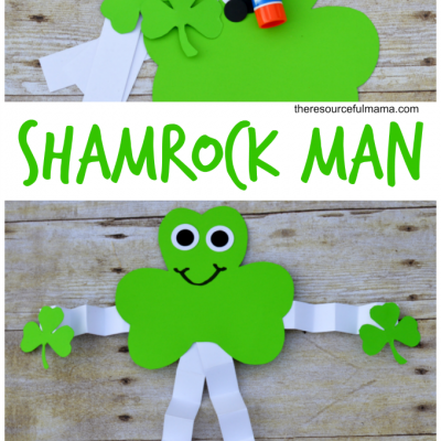 St. Patrick's Day Shamrock Man Craft