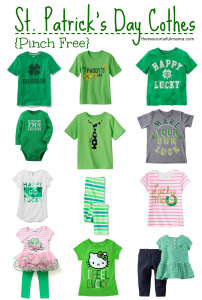 Pinch free clothes for kids to wear on St. Patrick's Day