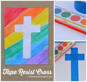 This is a great Easter art project for all kids.