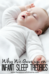 Does infant sleep have you stressed out? Read how we approached it different with all three children and what we learned