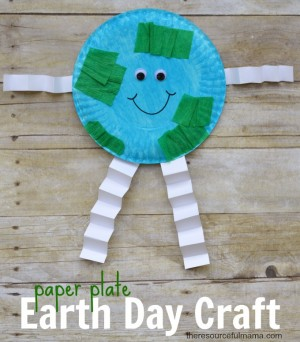 & Earth Day Craft for Kids - The Resourceful Mama