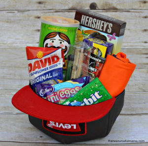 Teen boy easter basket and 20 ideas for fillers if you have a daughter who loves wearing hats this would be a fun easter basket her too negle Choice Image