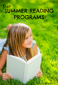 Motivate kids to keep reading this summer with these free summer reading programs.