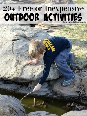20+ Outdoor Activities for Kids That are Free or Inexpensive