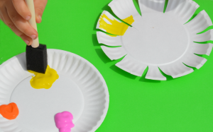 Paper Plate Flower Craft For Kids The Resourceful Mama