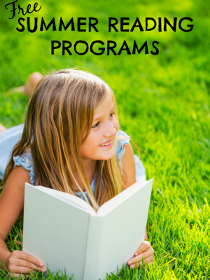 Free Summer Reading Programs to Encourage Reading