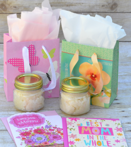 Homemade Lavender Vanilla Sugar Scrub DIY| Gift| Mother's Day| Teacher gift| Kid Made Gift| Pampering