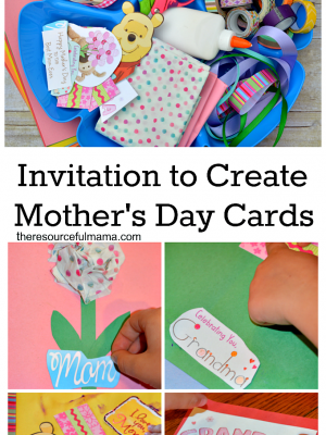 Invitation to Create Homemade Mother's Day Cards