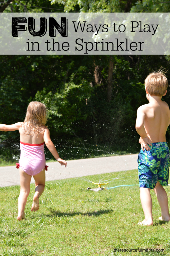 These sprinkler games offer an easy, fun and low prep way for kids to beat the heat and cool off this summer.