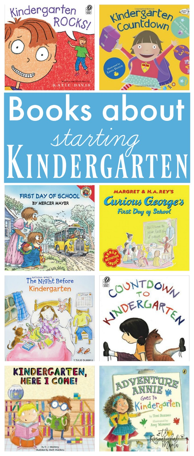 Kids will connect with beloved characters, realize they are not alone with their fears, and get excited about starting kindergarten as they read these kindergaraten books.