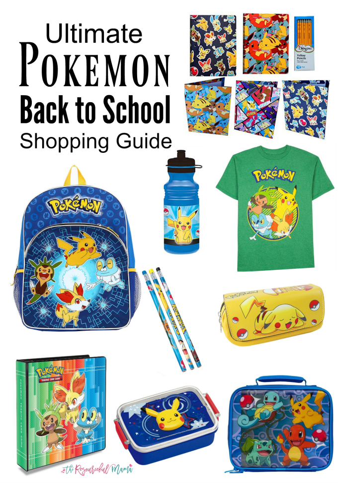 pokemon back to school guide pinnable image