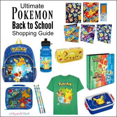 Ultimate Pokemon Back to School Shopping Guide