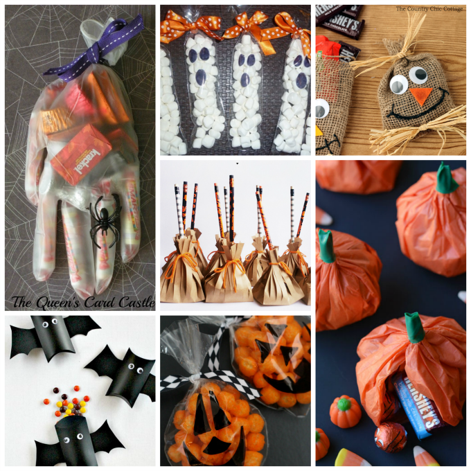 Treat Bag Party Favors. These 24 Halloween party favors are sure to be a  hit at your kids  school 882cde65baeb