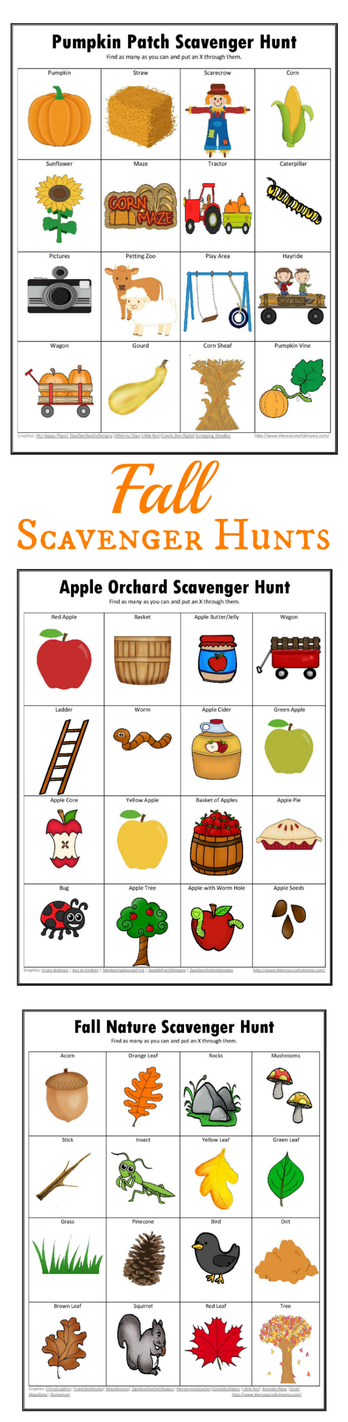 graphic about Fall Scavenger Hunt Printable known as Tumble Scavenger Hunts Totally free Printable - The Creative Mama