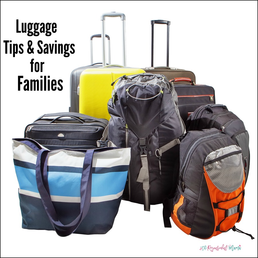 Tips for packing and luggage needs when traveling with kids