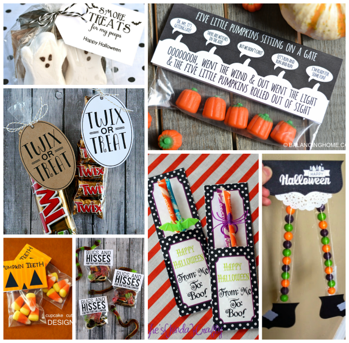 24 Creative Halloween Party Favors - The Resourceful Mama