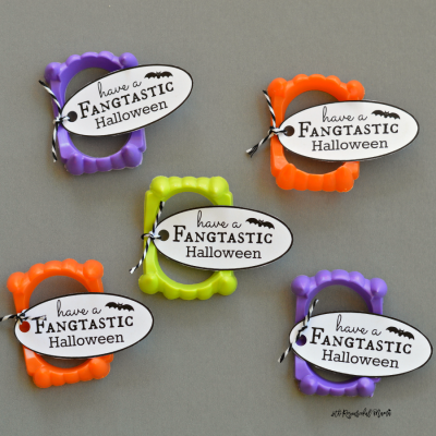 Vampire Fangs Halloween Favors