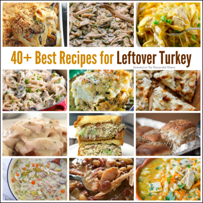 40+ Best Recipes for Leftover Turkey