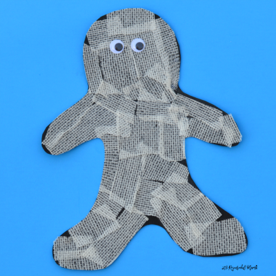 Gauze Mummy Craft