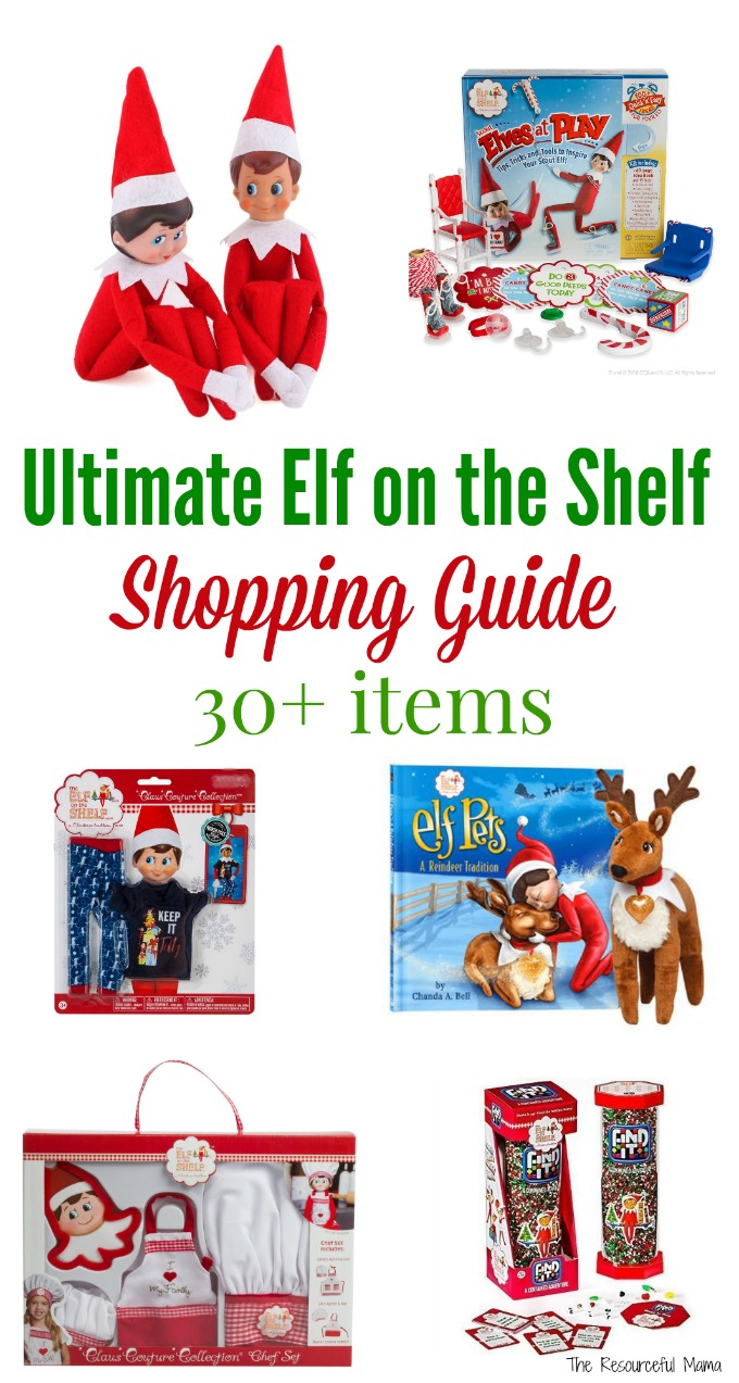 Ultimate Elf on the Shelf shopping guide: dolls, movies, activities, clothes