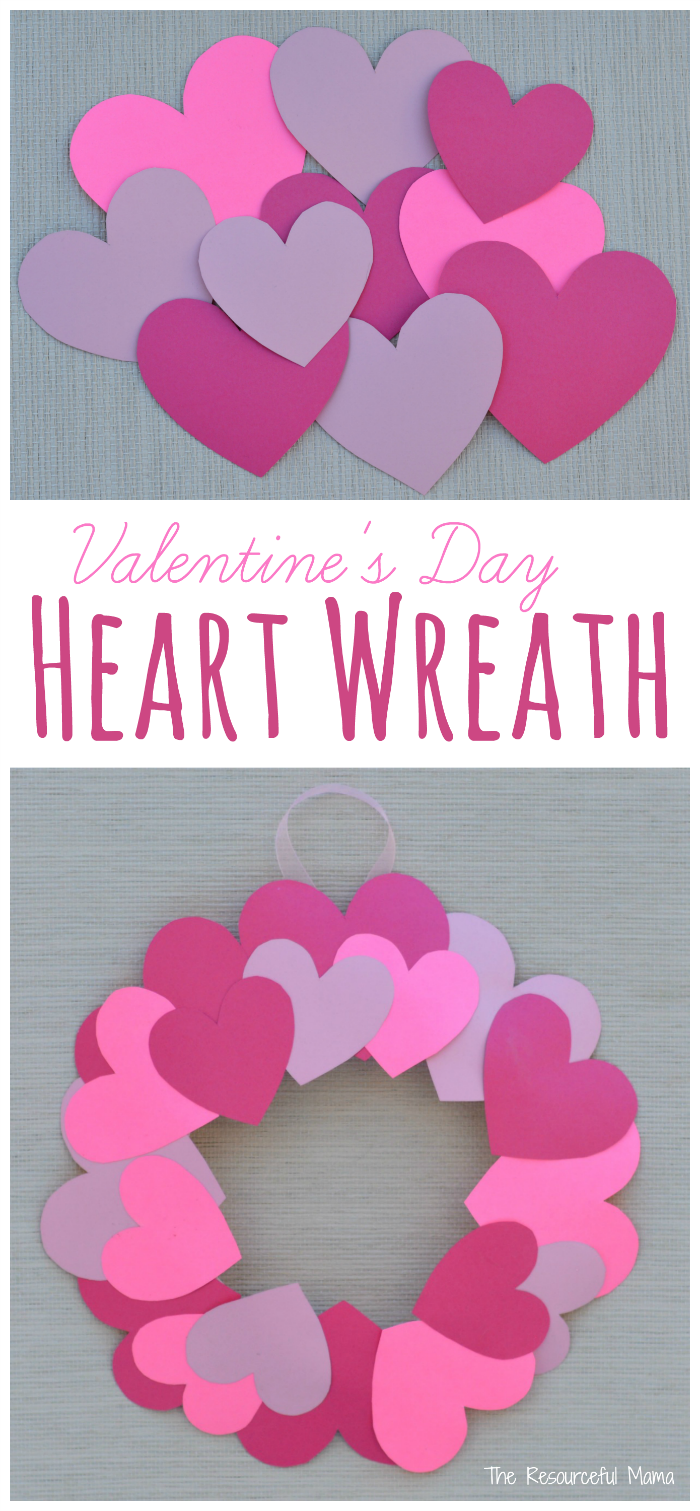 Kids Can Help Decorate For Valentineu0027s Day With This Paper Plate Heart  Wreath Craft.