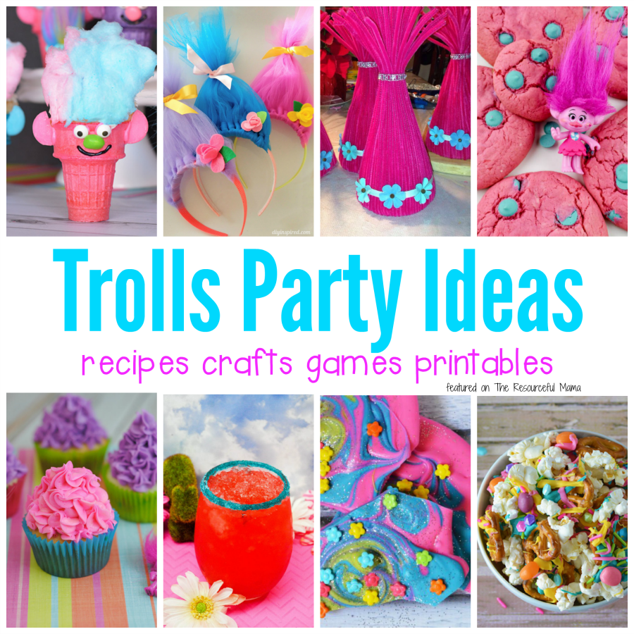 Fun Filled Trolls Party Ideas The Resourceful Mama