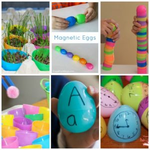Creative Ways to Use Plastic Easter Eggs - The Resourceful Mama