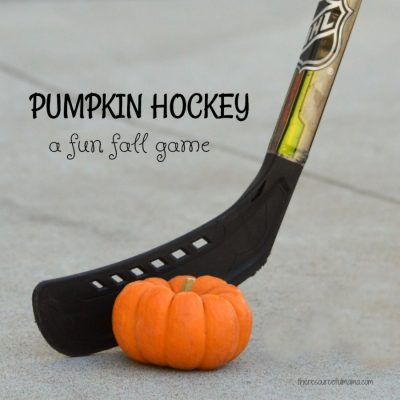 Pumpkin Hockey: A Fun Fall Game for Kids