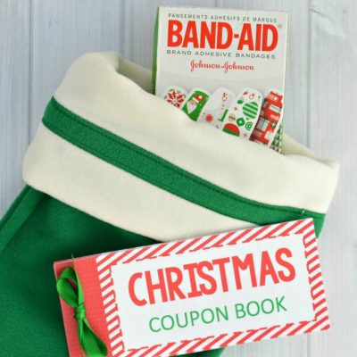 Stocking Stuffer Christmas Coupon Book
