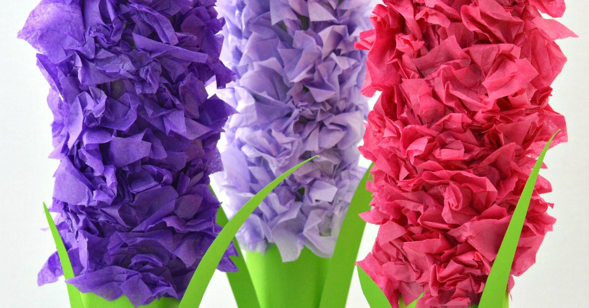 paper hyacinths flower craft for kids paper roll hyacinth flower craft for the 7860