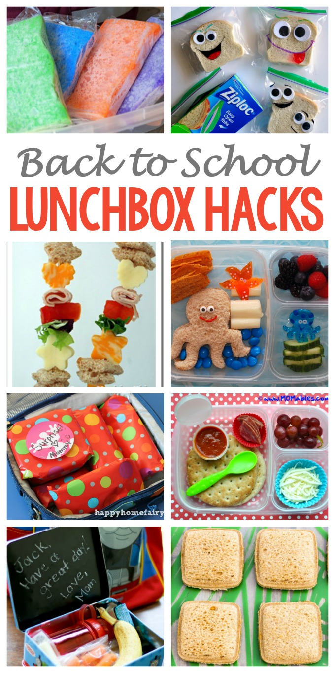 These super cleverand useful lunchbox hacks will make packing nutritious lunches for your kids fun and easier all year long.#backtoschool #lunchhacks #lunchbox #lunchforkids