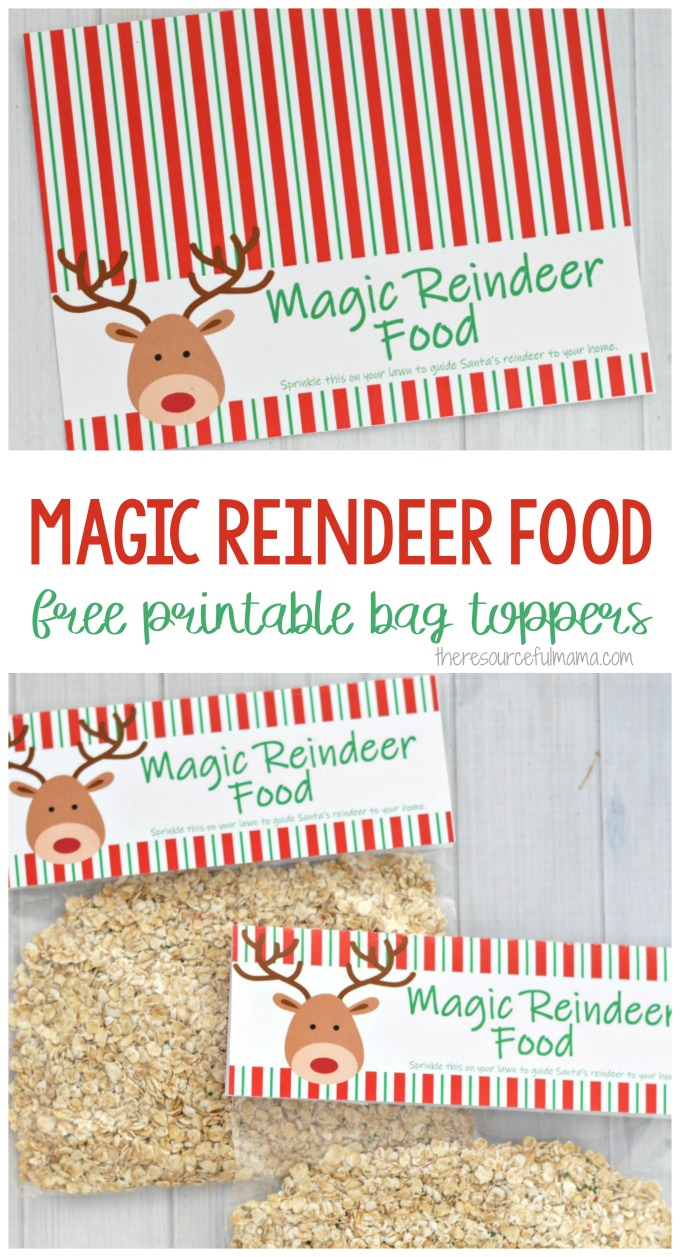 Making Magic Reindeer Food and sprinkling it on your lawn is a fun, easy, and inexpensive Christmas Eve tradition. You need only a few items that you likely already have.
